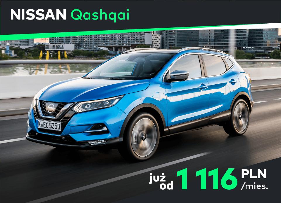 Nissan Qashqai Koniec z kupowaniem aut na własność, to się nie opłaca