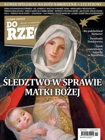 Okładka tygodnika DoRzeczy nr 51/2018 (303)