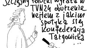 Szczęsny Potocki w TVN24